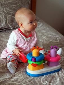 Juguetes de bebé. Juguetes para bebés.