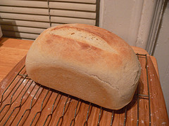 Receta de pan casero. Cocina para niños