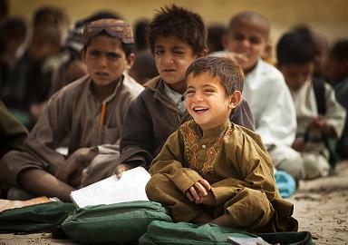 Clases en Afganistán. Vuelta al cole