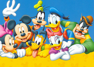 Disney España: Personajes Disney