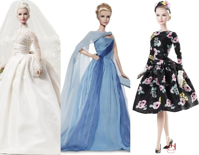 Barbie grace kelly: Barbie de colección