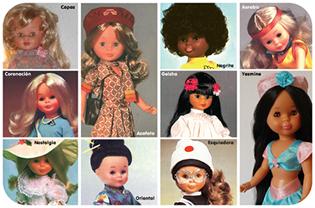 Nancy muñeca. Nancy colección.